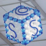 Sysco Foods Logo Balloon Sculpture