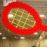 Tennis Record Balloon Sculpture