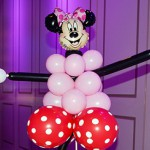 Minney Mouse Sculpture Centerpiece