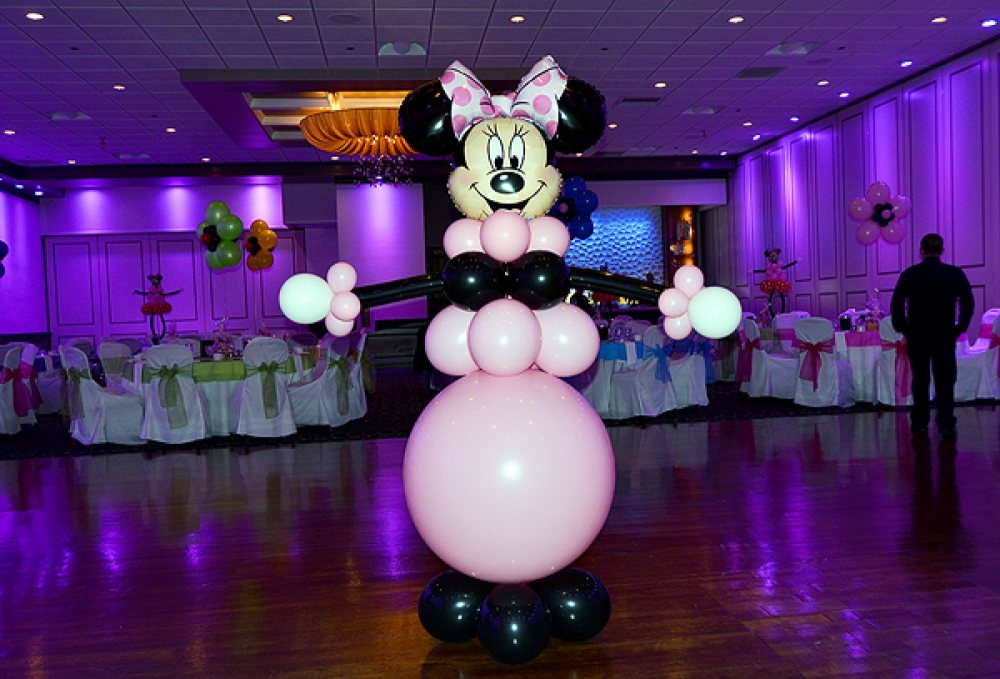 Big minnie mouse for Balloon decoration minnie mouse
