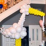 10' Stork Balloon Sculpture