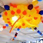 Fundraiser Sun Ceiling Decoration