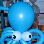 Small Octopus Balloon