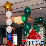 """Citco"" Sign Balloon Wall"