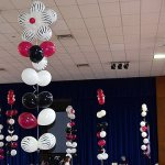 Zebra Flower Tall Centerpieces