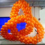 Abstract Balloon Sculpture