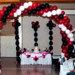 Three Color Balloon Arch