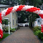 Balloon Arch Over Dirvay