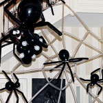 Balloon Spiders on Spiderweb