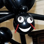 Big Smiling Balloon Spider