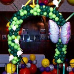 Jungle Balloon Arch