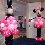 Minnie Mouse Balloon Sculptures