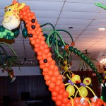 Giraffe Balloon Sculpture