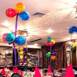 Vertical Balloon Centerpiece