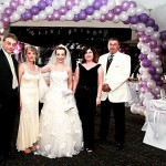 Big Wedding Balloon Arch