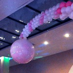 Wedding explosive balloon pict 1