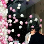 Wedding explosive balloon pict 2