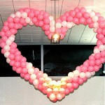 20' by 20' Balloon  Heart