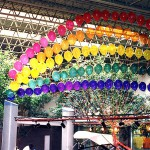 Rainbow Arch in Mall