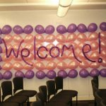 Balloon Wall - Welcome