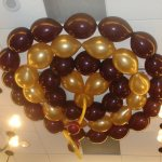 Ceiling Decoration - Balloon Corall At DoubleTree Hotel
