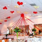 Balloon Clusters fro Wedding