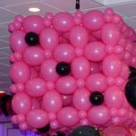Balloon Sculpture of Dice - Boston MA